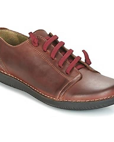 Hnedé topánky Casual Attitude