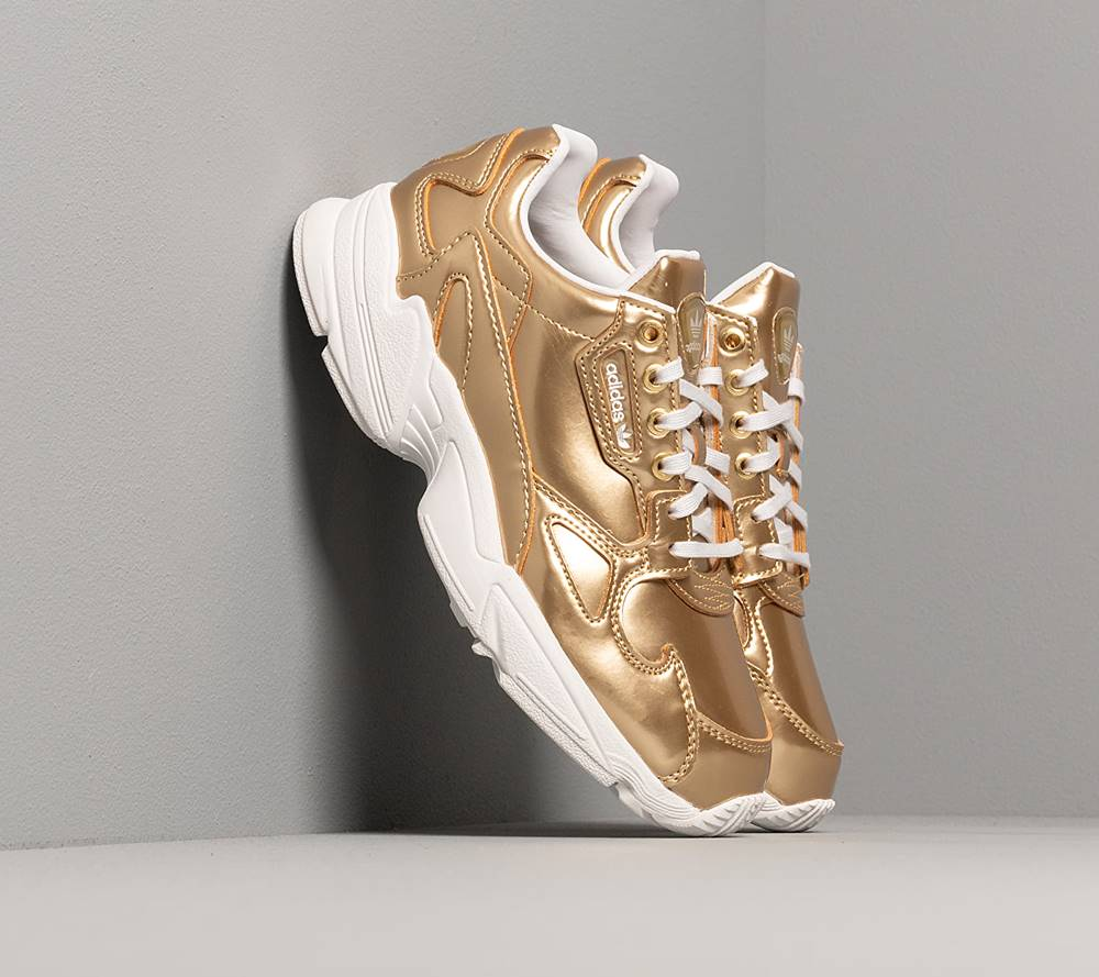 adidas Originals adidas Falcon W Gold Metalic/ Gold Metalic/ Crystal White
