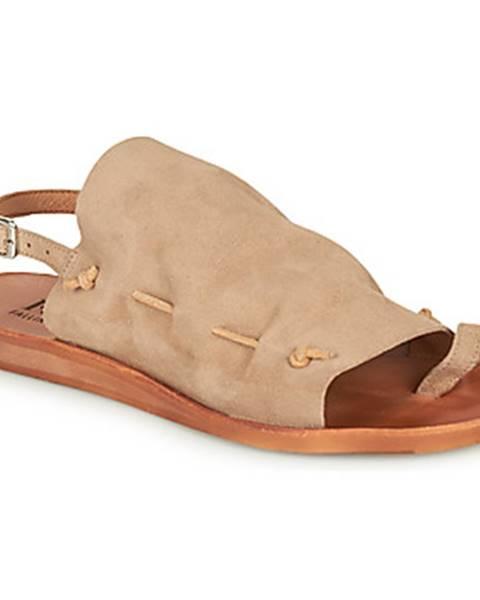 Béžové sandále Felmini