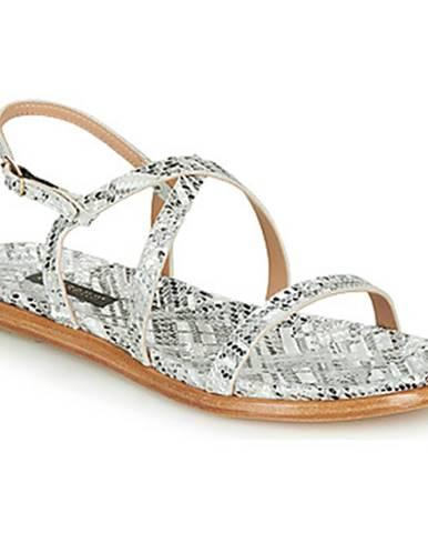 Strieborné sandále Neosens