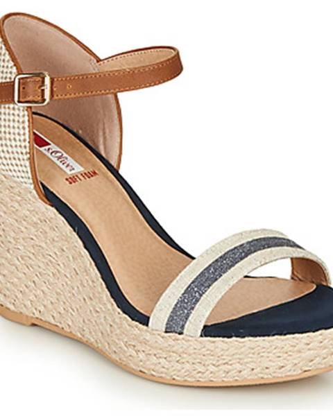 Béžové sandále S.Oliver