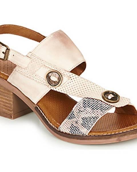 Béžové sandále Casta