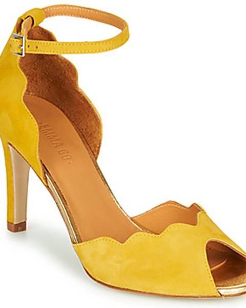 Žlté sandále Emma Go
