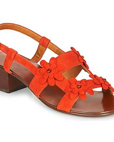 Oranžové sandále Chie Mihara