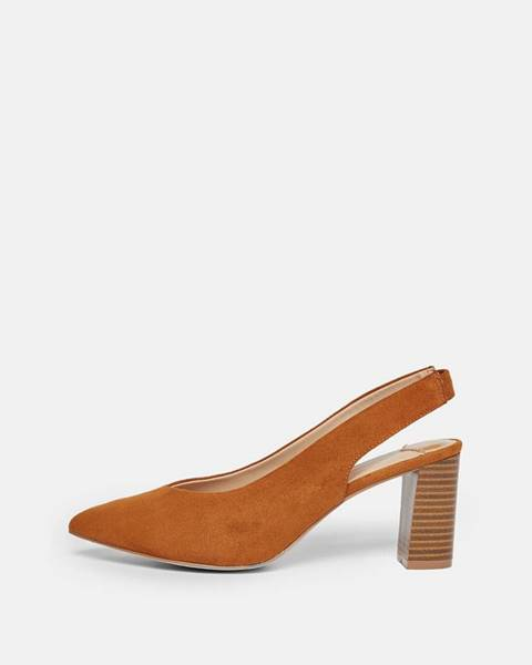 Hnedé topánky Dorothy Perkins