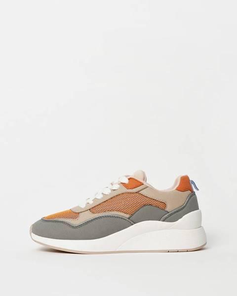 Oranžové tenisky Vero Moda