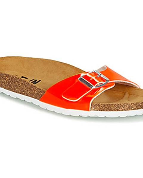 Oranžové topánky Elue par nous