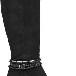 Graceland - Čierne čižmy Graceland