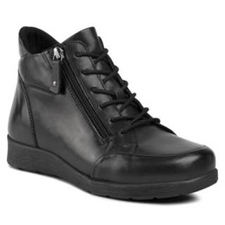 Šnurovacia obuv GO SOFT WI23-ULA-01 Prírodná koža(useň) - Lícova