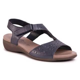 Sandále GO SOFT WI16-ANYA-02 Prírodná koža(useň) - Lícova