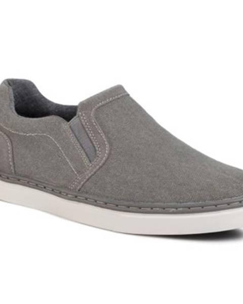 Šedé topánky Lanetti