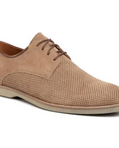 Béžové topánky Gino Rossi