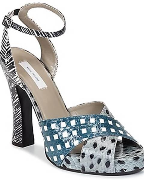 Modré sandále Marc Jacobs