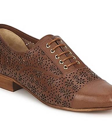 Hnedé topánky Moschino Cheap   CHIC