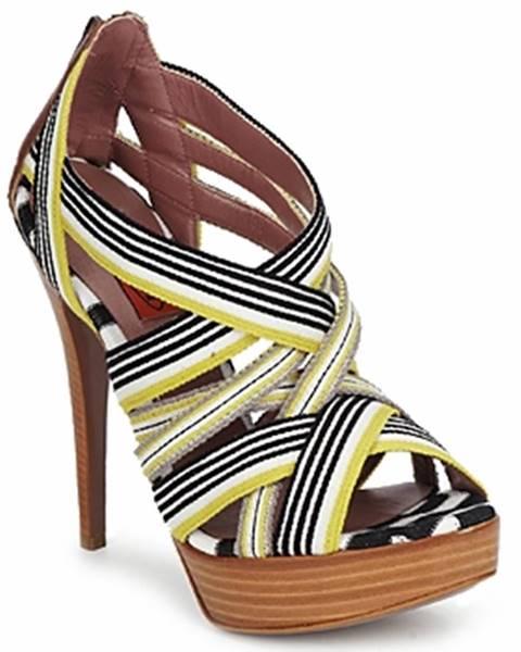 Žlté sandále Missoni