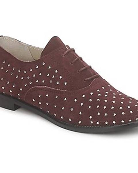 Fialové topánky Meline