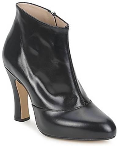 Čierne topánky Marc Jacobs