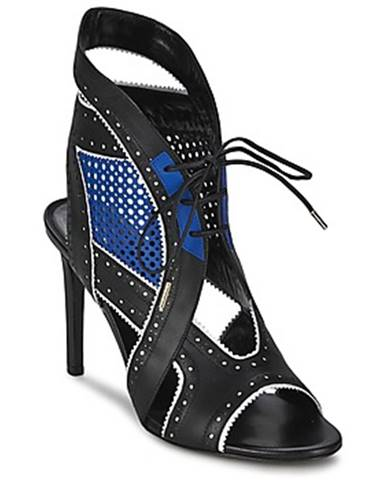 Čierne sandále Roberto Cavalli