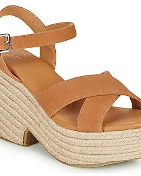 Hnedé sandále Superdry