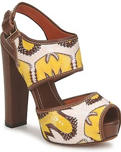 Hnedé sandále Missoni