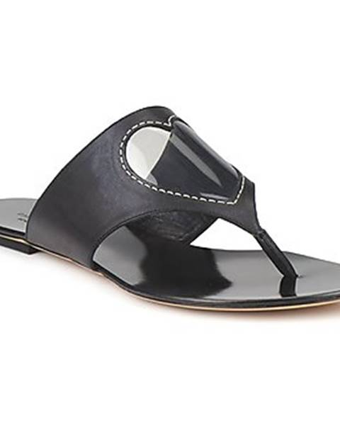 Čierne topánky Moschino Cheap   CHIC