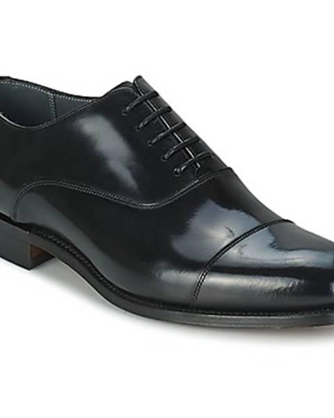 Čierne topánky Barker