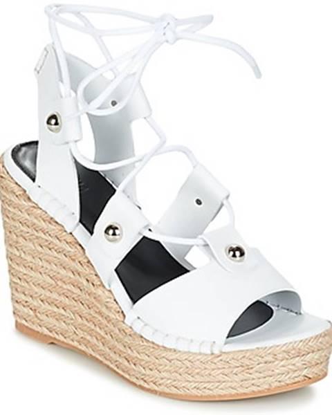Biele sandále Sonia Rykiel