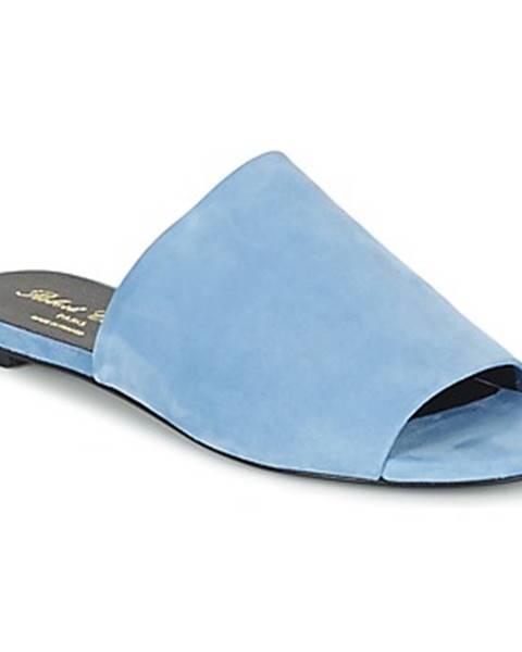 Modré topánky Robert Clergerie
