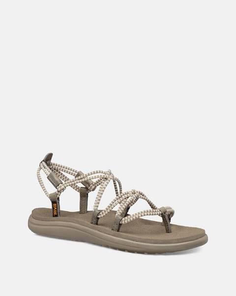Béžové sandále Teva
