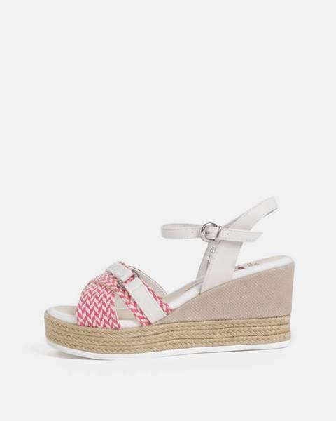 Ružové sandále U.S. Polo Assn.