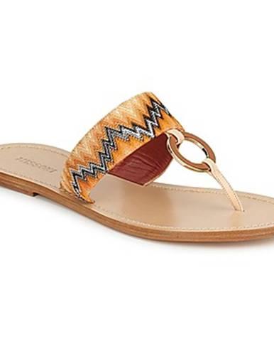 Oranžové topánky Missoni