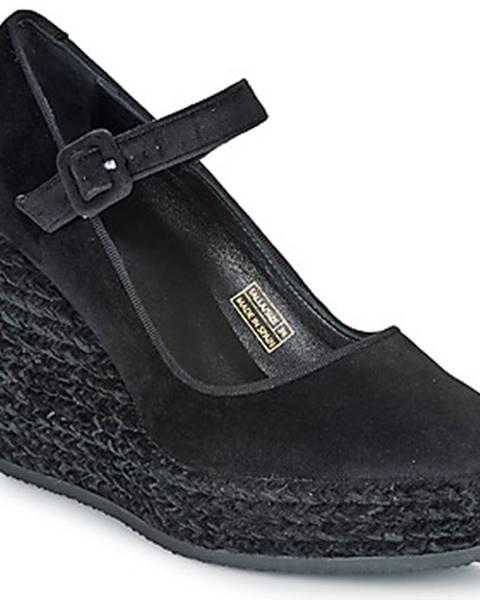 Čierne lodičky Castaner
