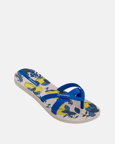 Modré papuče Ipanema