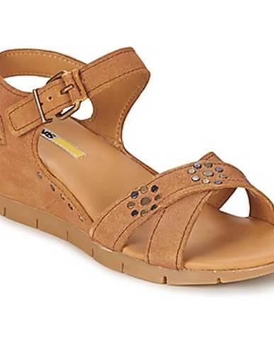 Hnedé sandále Manas