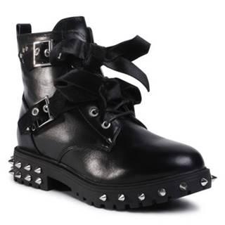 Šnurovacia obuv DeeZee WS5017-10 Ekologická koža/-Ekologická koža