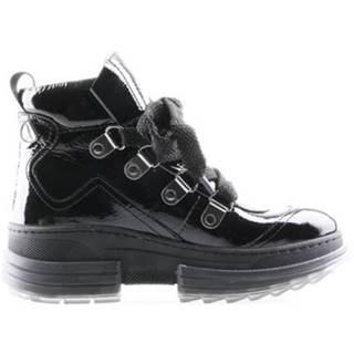 Šnurovacia obuv Gino Rossi 6348 Prírodná koža(useň) - Lakovaná