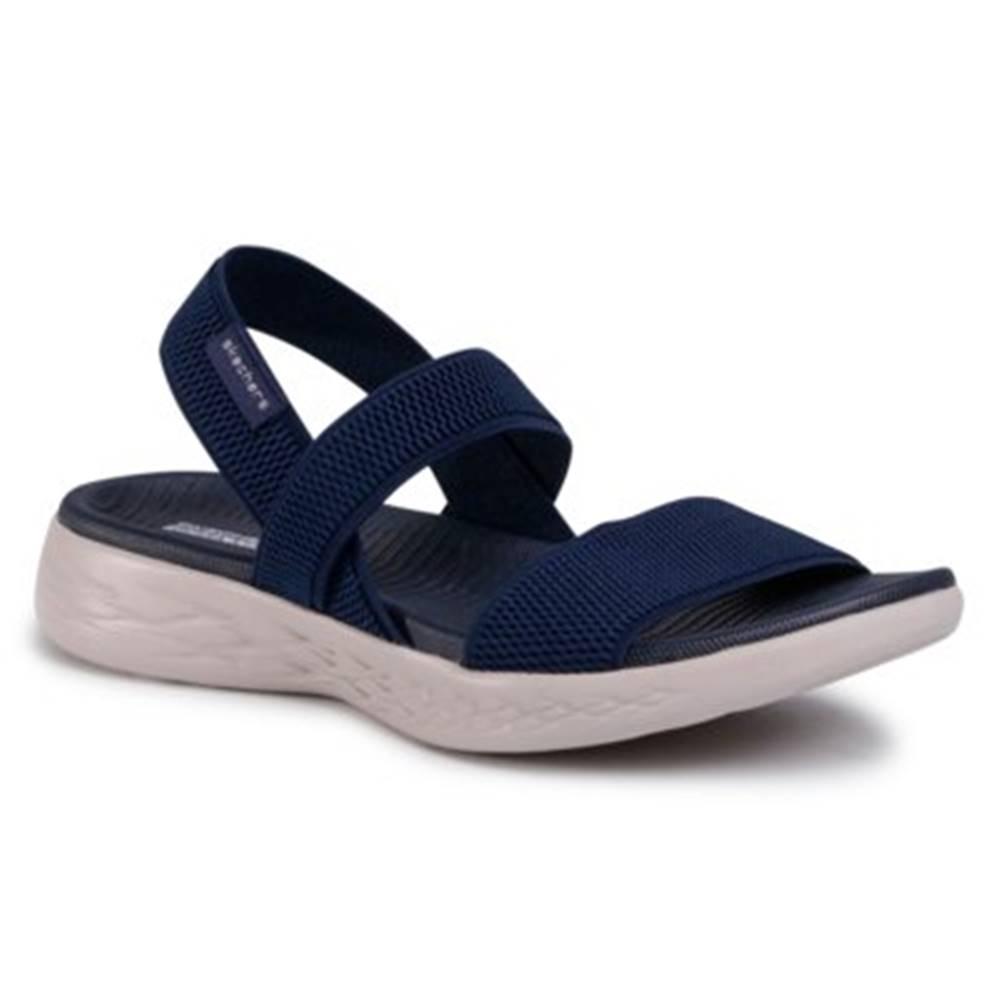 Skechers Sandále Skechers 15312 NVY Látka/-Materiál