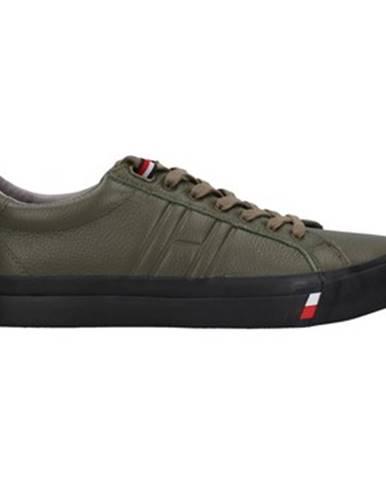 Zelené tenisky Tommy Hilfiger