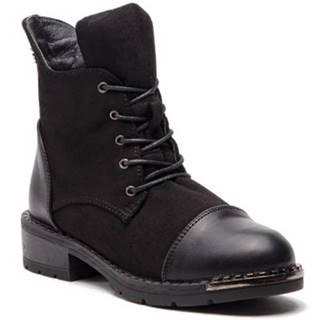Šnurovacia obuv Jenny Fairy WSS18047 Ekologická koža/-Ekologická koža