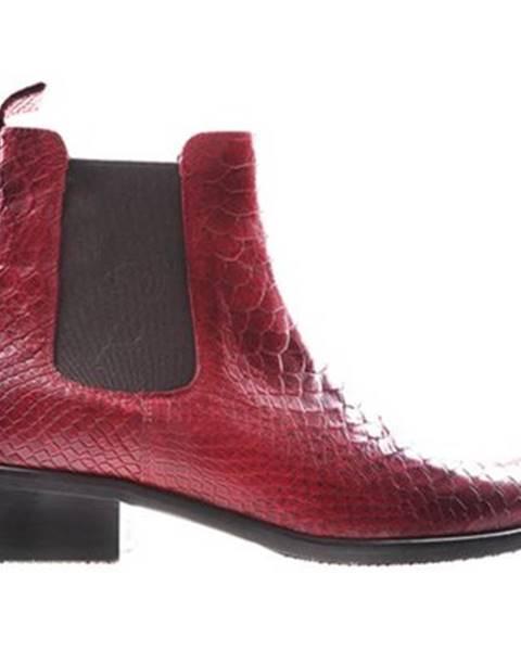 Červené topánky Gino Rossi