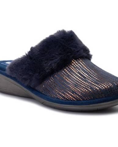 Tmavomodré papuče INBLU